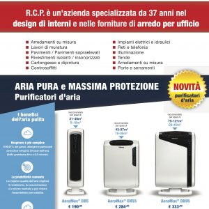 BROCHURE PURIFICATORI D'ARIA