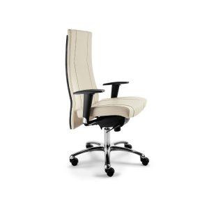 sedia direzionale in pelle