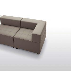 divano in pelle componibile